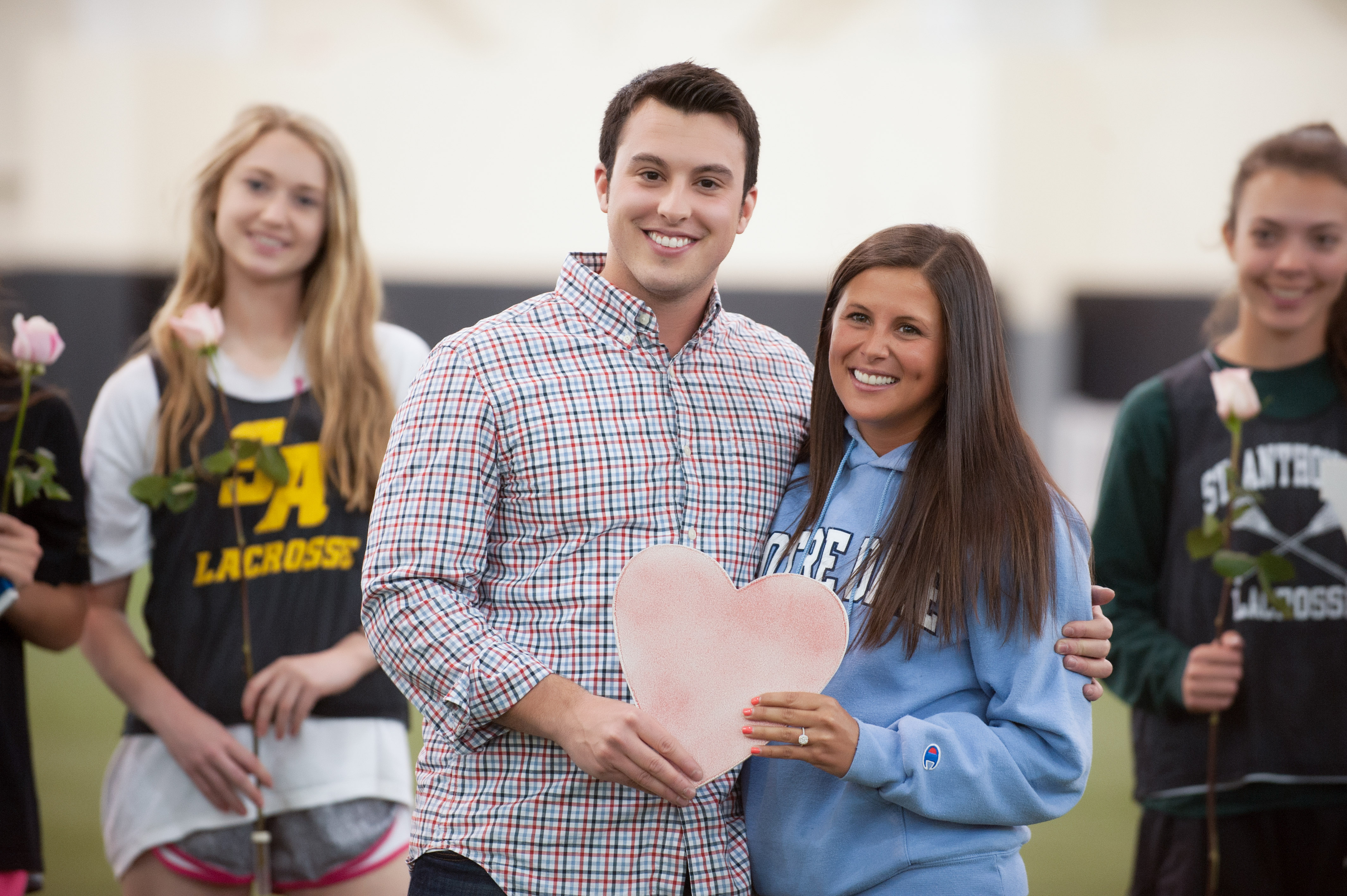 Image 19 of Marriage Proposal at Lacrosse Practice