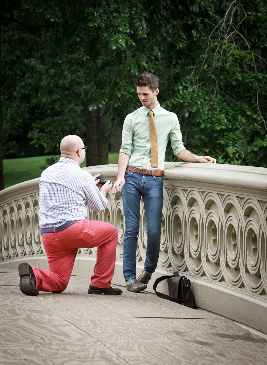 Same-sex proposal