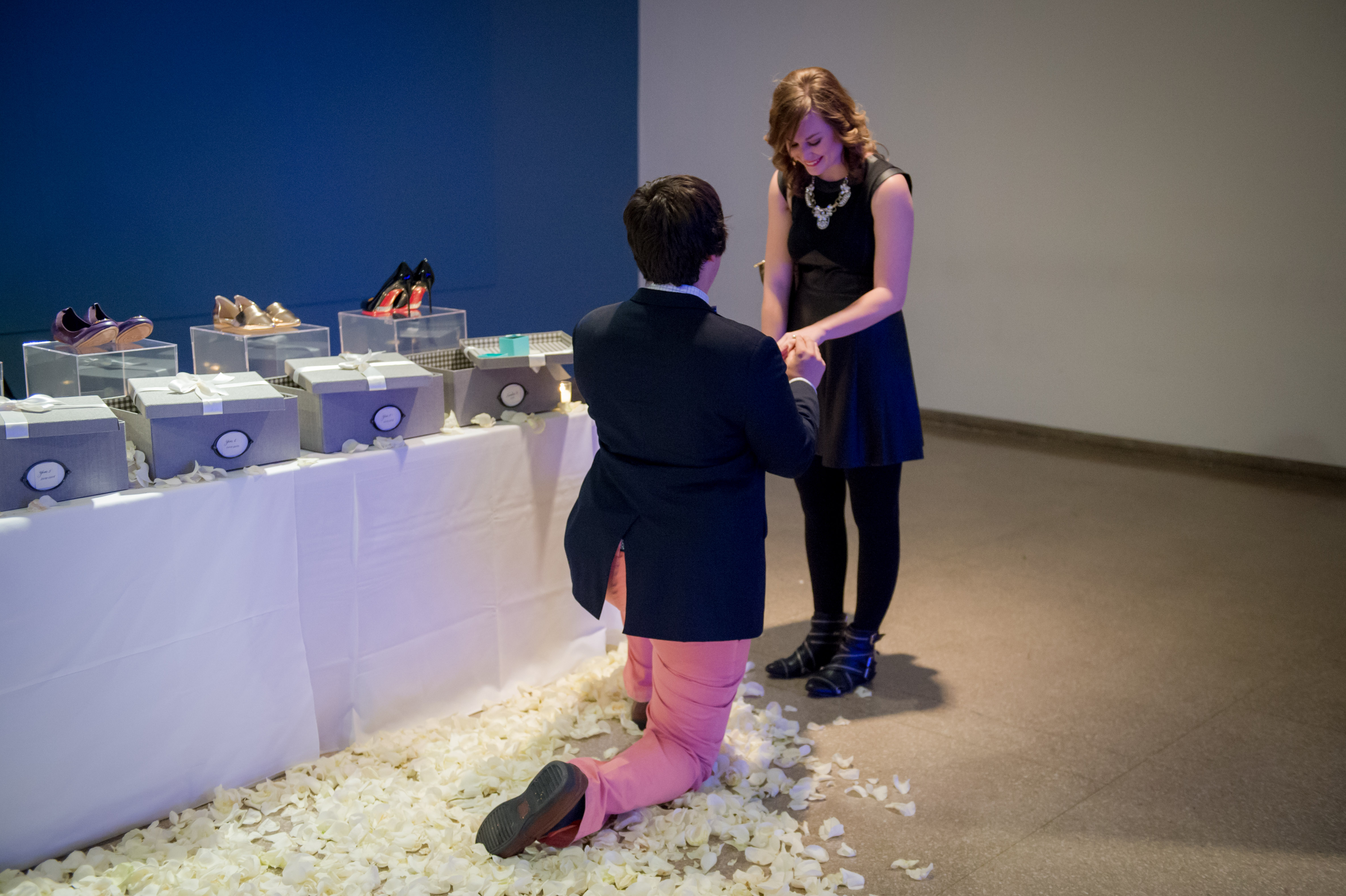 Image 9 of Kelcie and Bo | A Shoe Lover's Dream Proposal