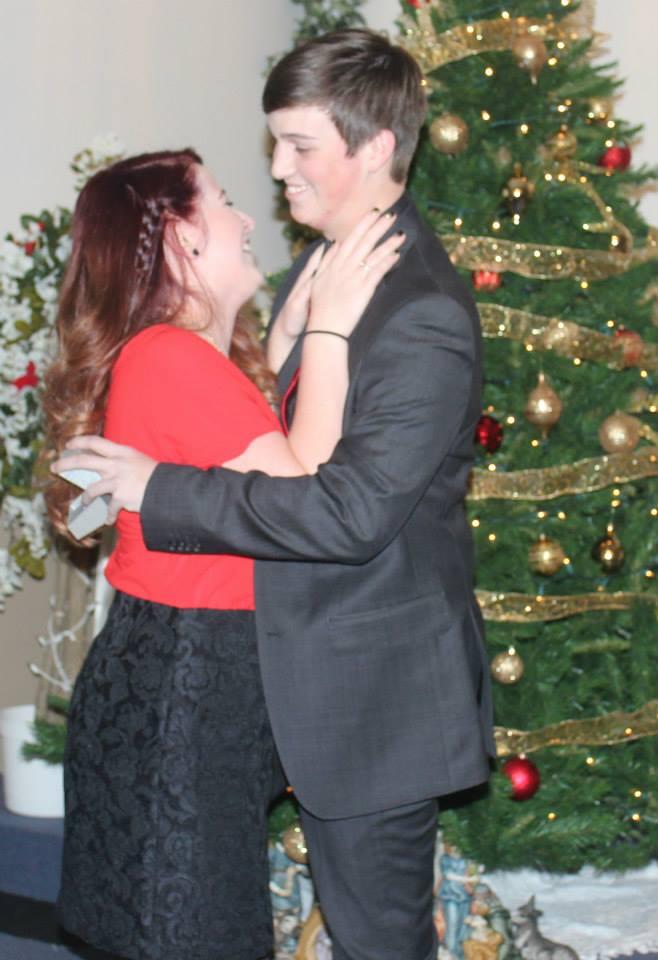 Image 1 of Kristina and Kyler | Christmas Proposal