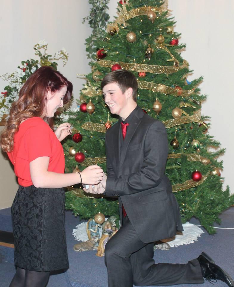 Image 5 of Kristina and Kyler | Christmas Proposal