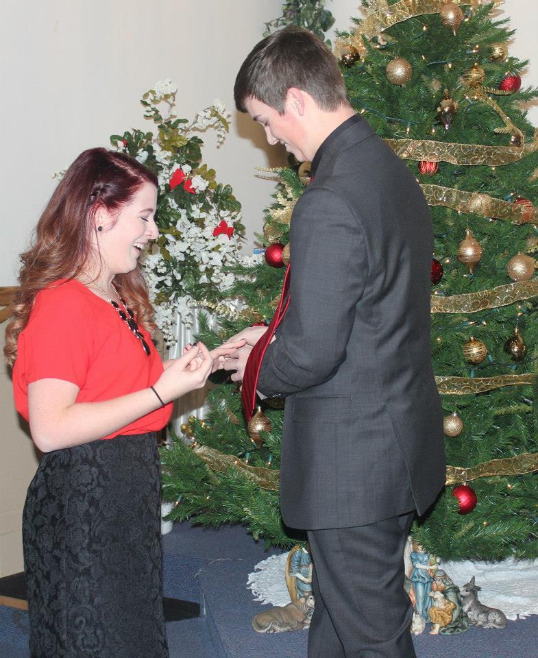 Image 3 of Kristina and Kyler | Christmas Proposal