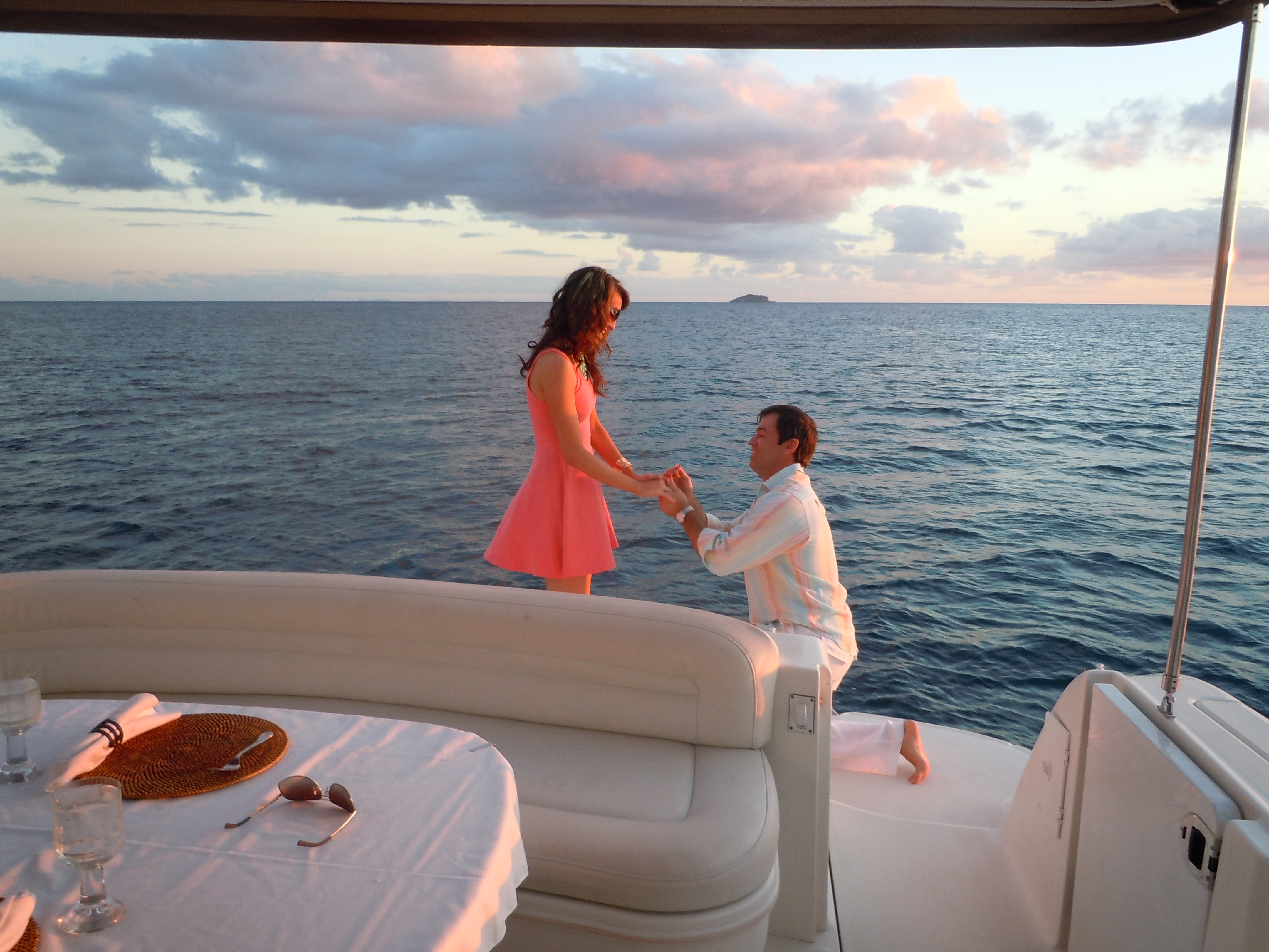 Image 7 of A Private Yacht Proposal in St. Thomas