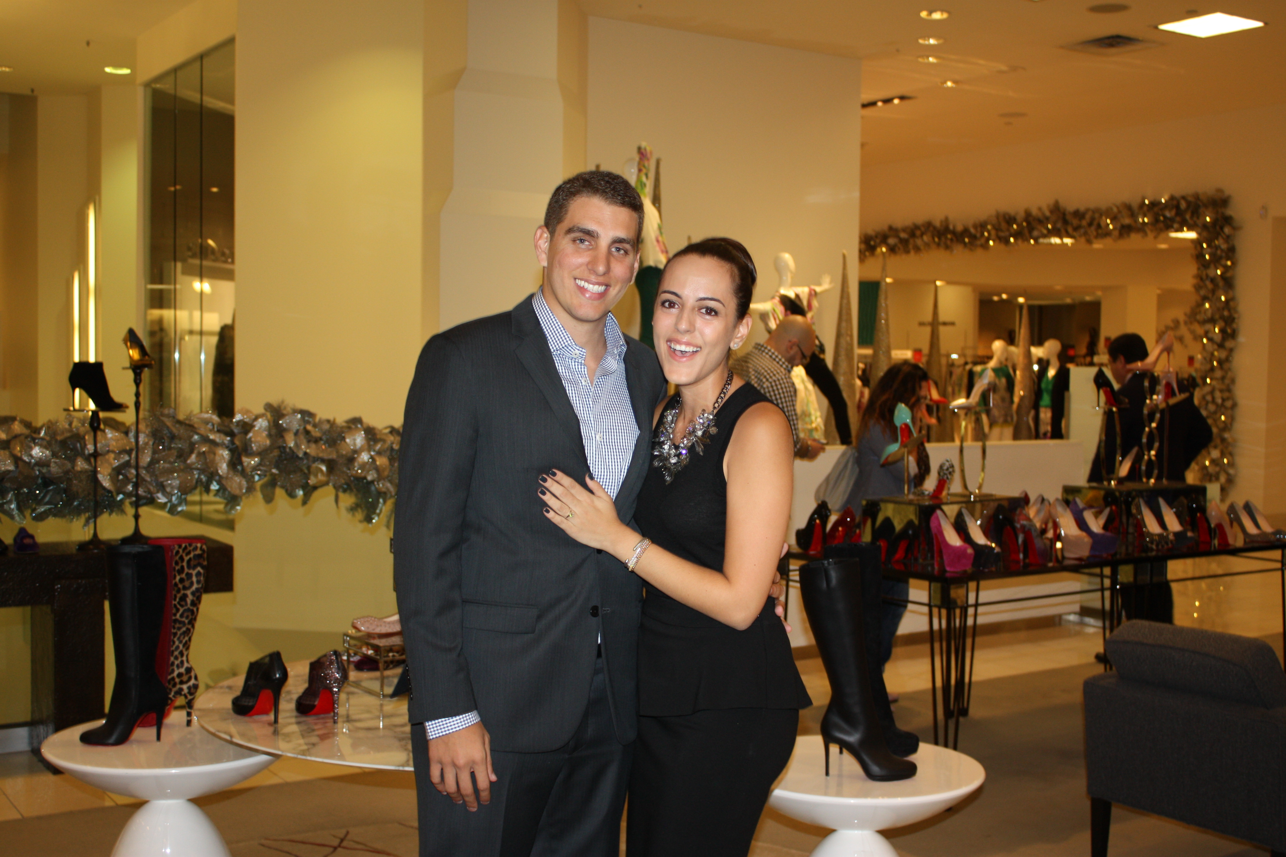 Image 7 of Erika and Alex | Saks Fifth Avenue Proposal