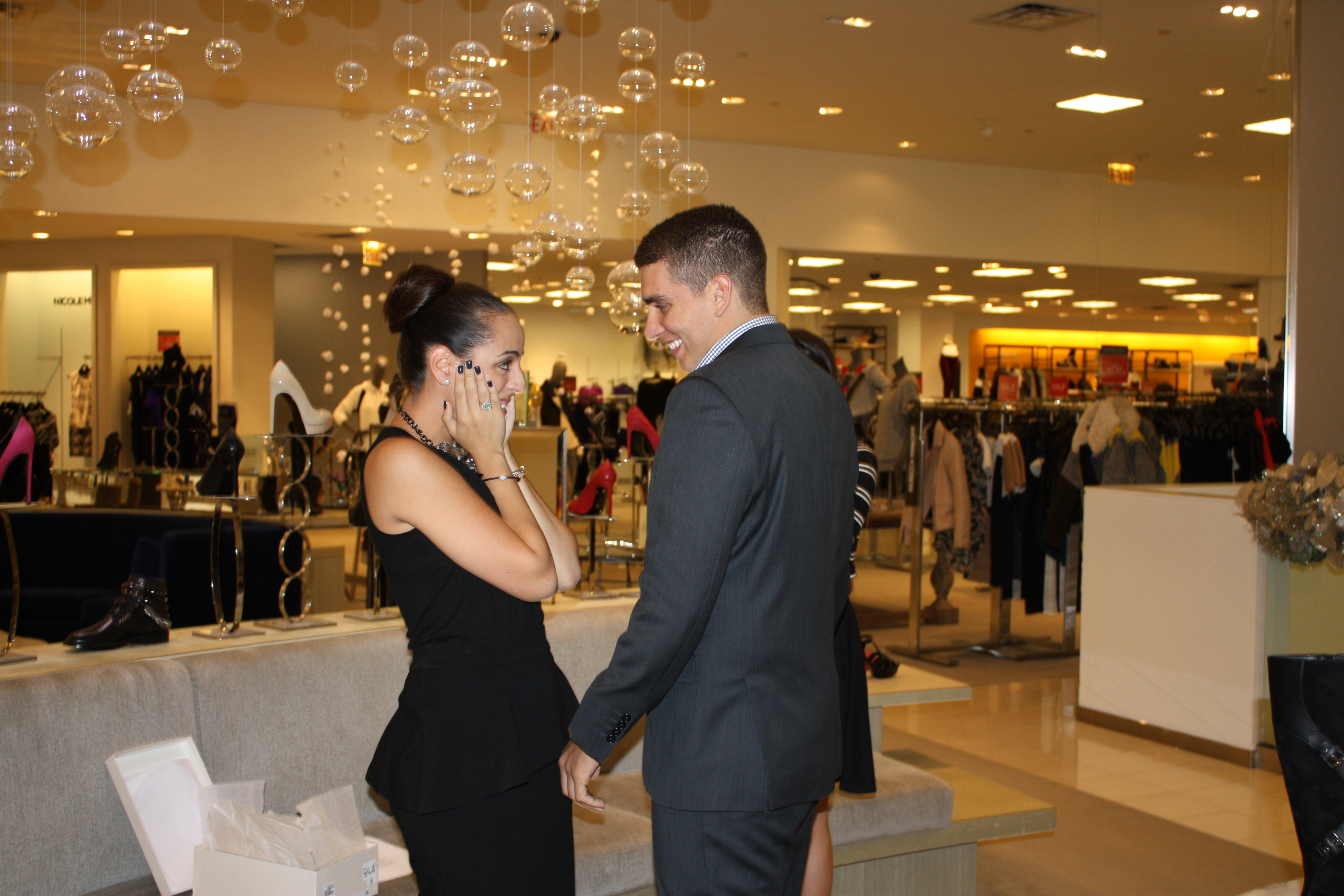 Image 5 of Erika and Alex | Saks Fifth Avenue Proposal