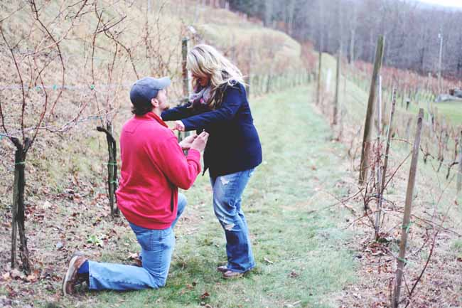 Image 4 of Jessica and Adam | Proposal at a Winery
