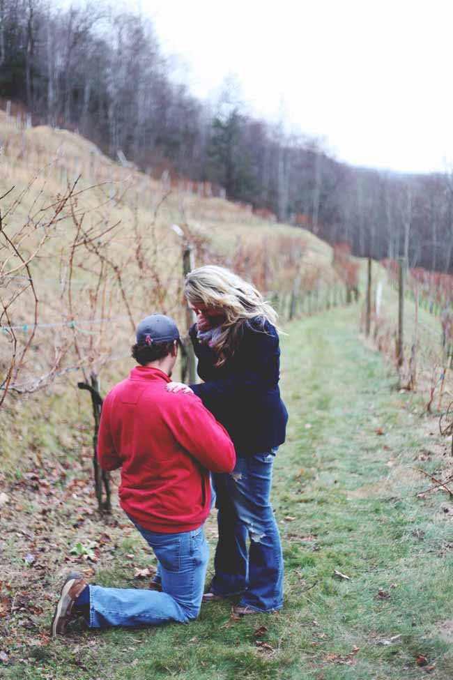 Image 7 of Jessica and Adam | Proposal at a Winery