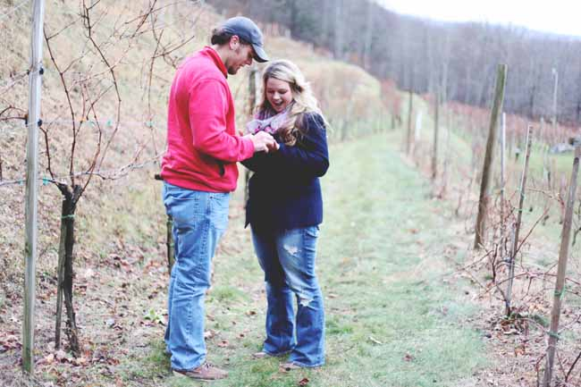 Image 9 of Jessica and Adam | Proposal at a Winery