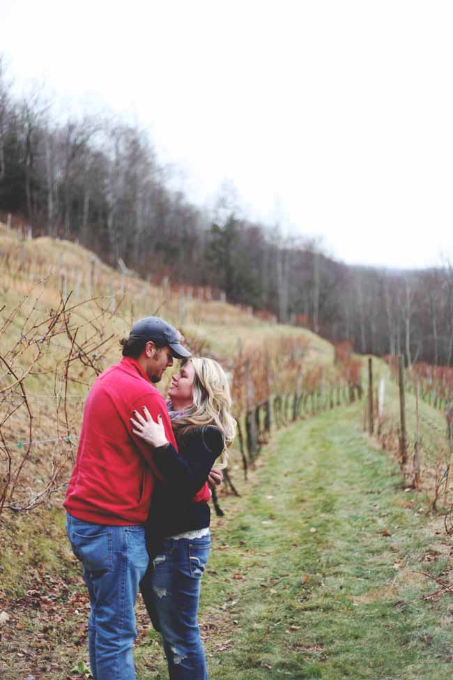 Image 10 of Jessica and Adam | Proposal at a Winery