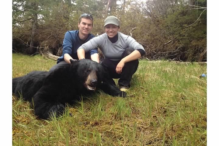 Zach and Julie bear