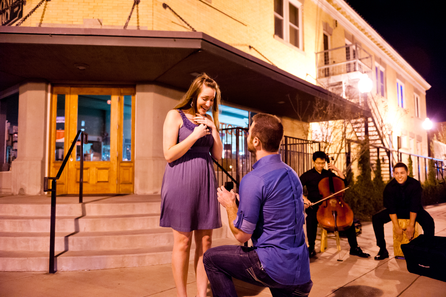 Image 9 of Proposal after Salsa Dancing
