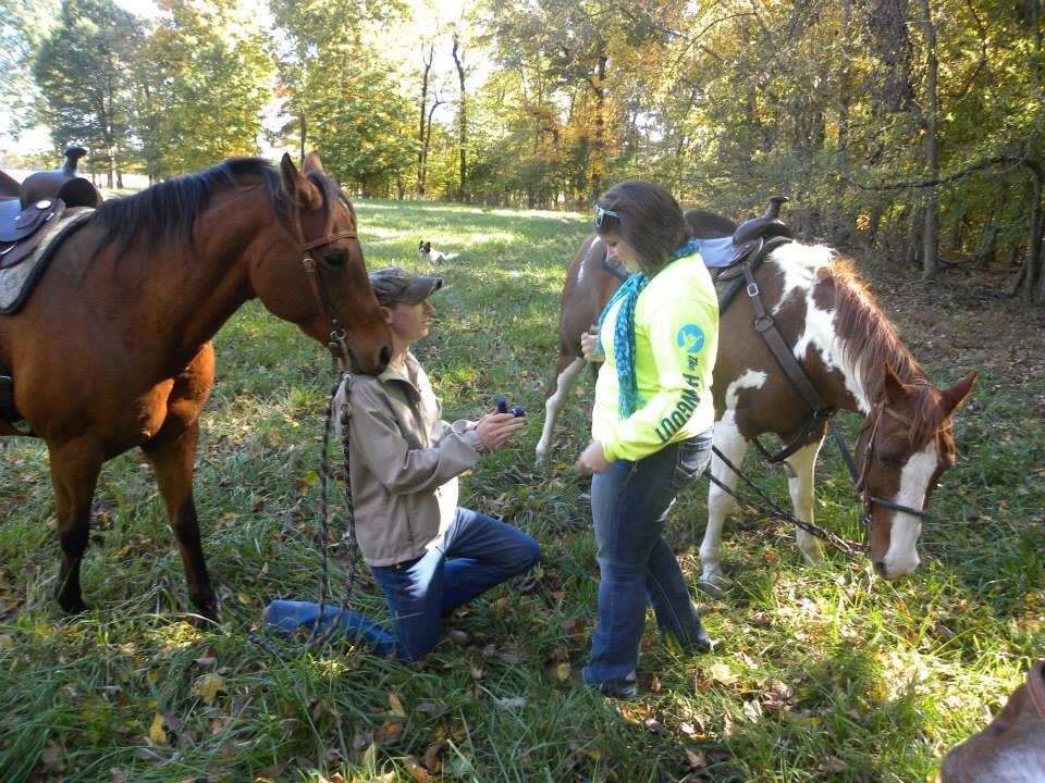 Image 5 of Elizabeth and Trey |Horseback Riding Marriage Proposal