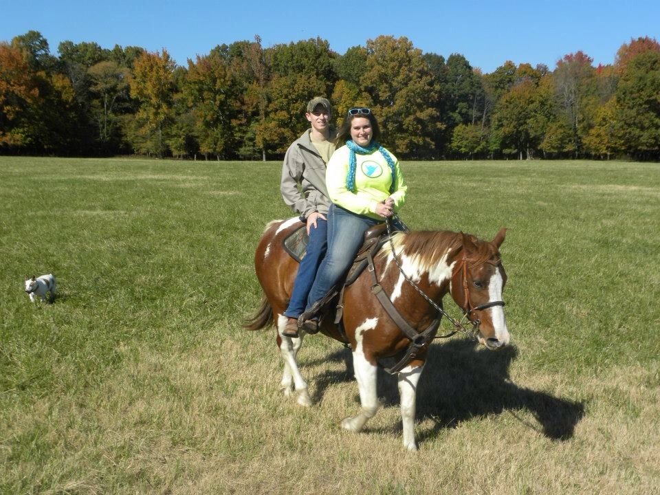 Image 1 of Elizabeth and Trey |Horseback Riding Marriage Proposal