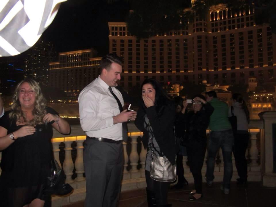 Image 2 of Marena and Louis | Las Vegas Marriage Proposal