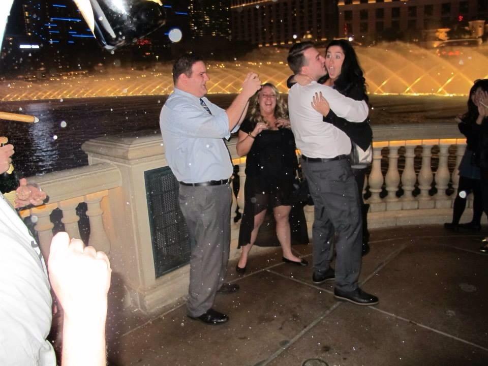 Image 3 of Marena and Louis | Las Vegas Marriage Proposal