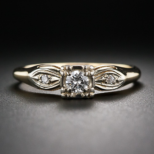 1377210107_10_1_6084_14k_yg_diamond_ring__1_of_4_ - 1920s Wedding Rings
