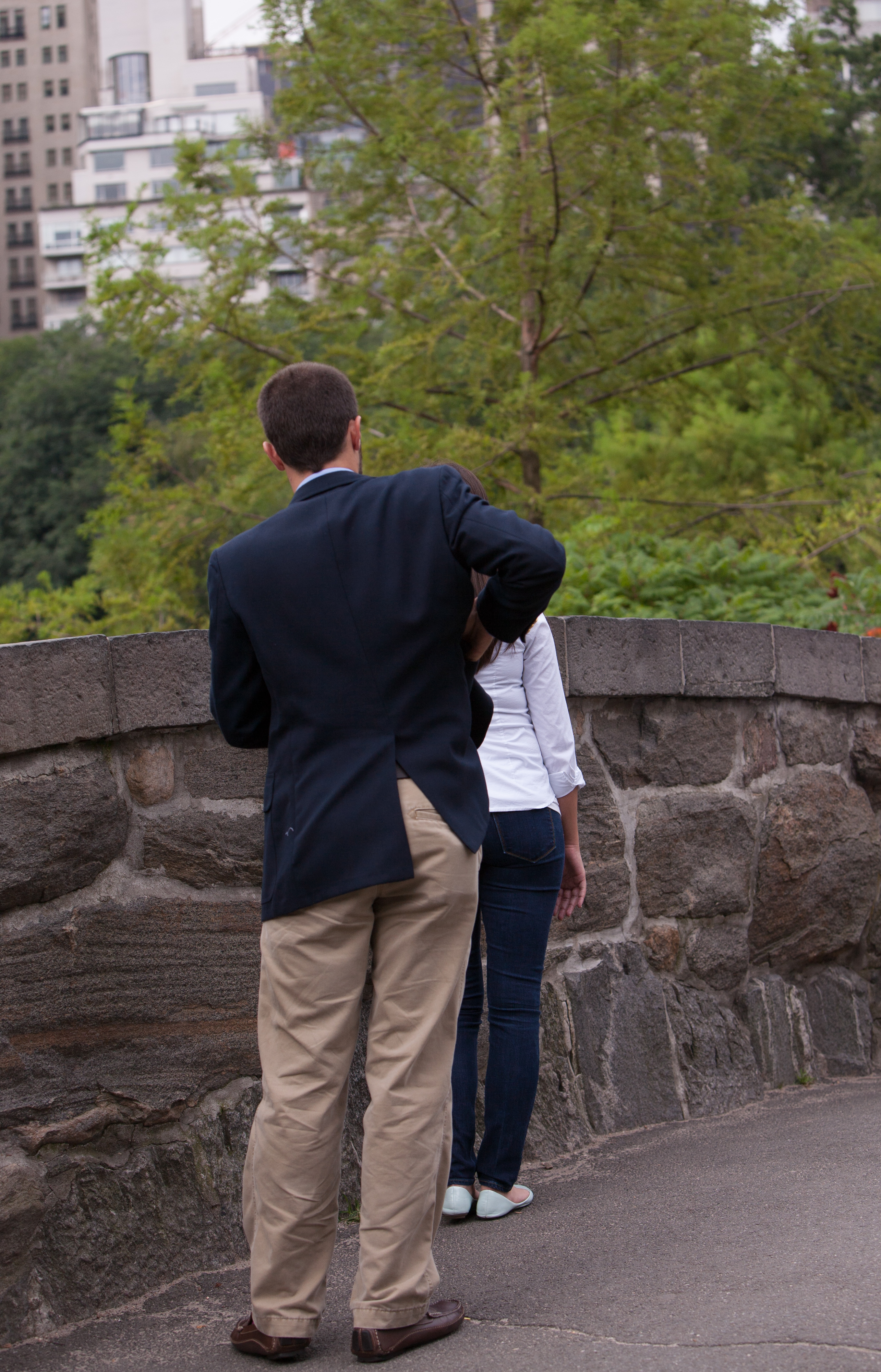 Image 4 of Heather and Nick; Engaged in NYC