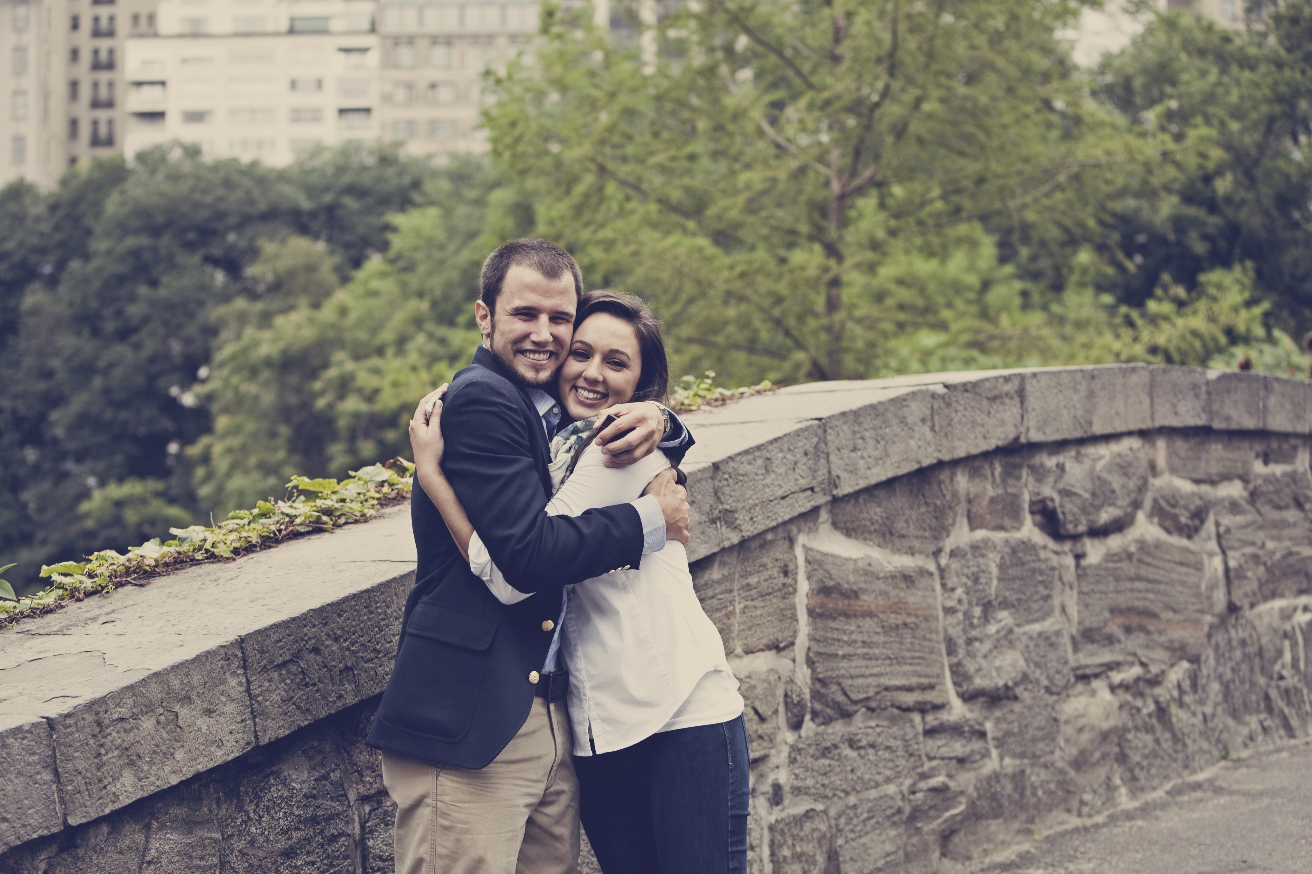 Image 17 of Heather and Nick; Engaged in NYC