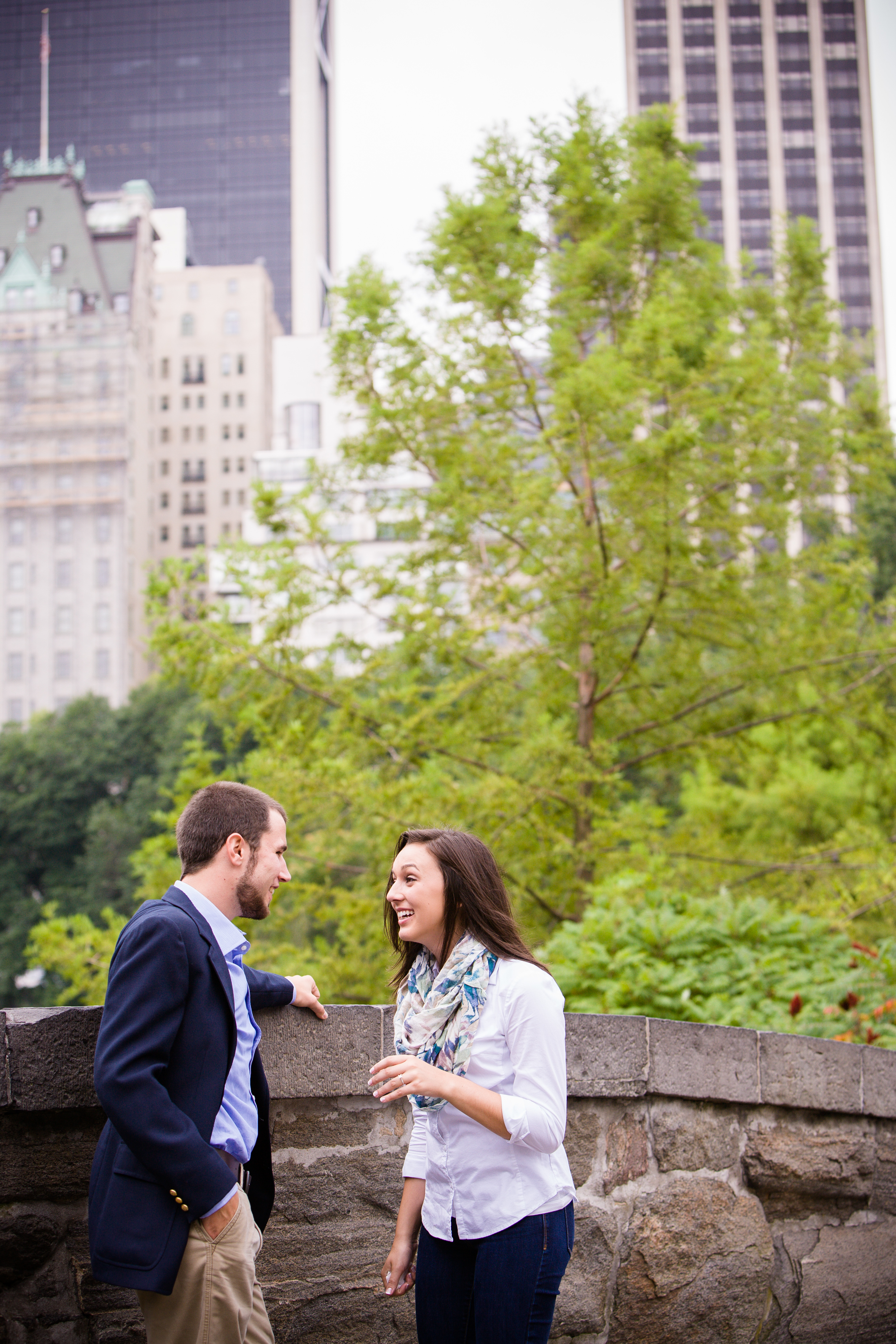 Image 18 of Heather and Nick; Engaged in NYC