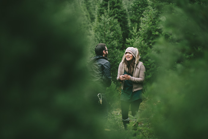 Image 7 of Marriage Proposal at a Christmas Tree Farm
