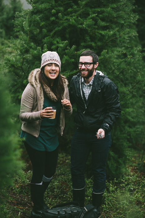 Image 15 of Marriage Proposal at a Christmas Tree Farm