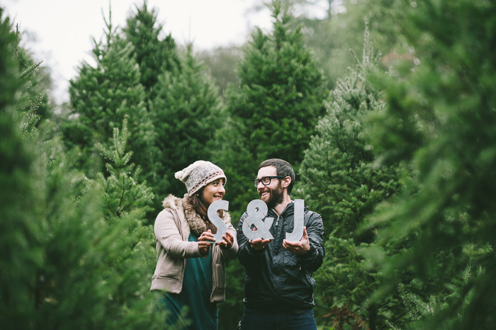 Image 17 of Marriage Proposal at a Christmas Tree Farm