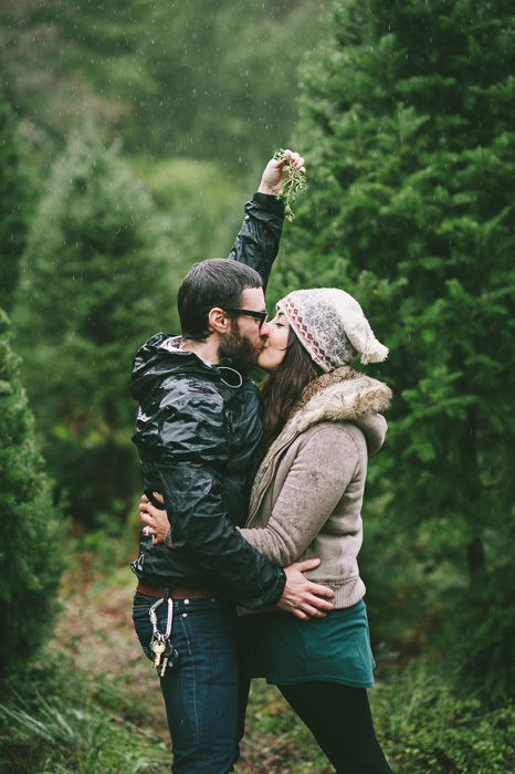 Image 20 of Marriage Proposal at a Christmas Tree Farm
