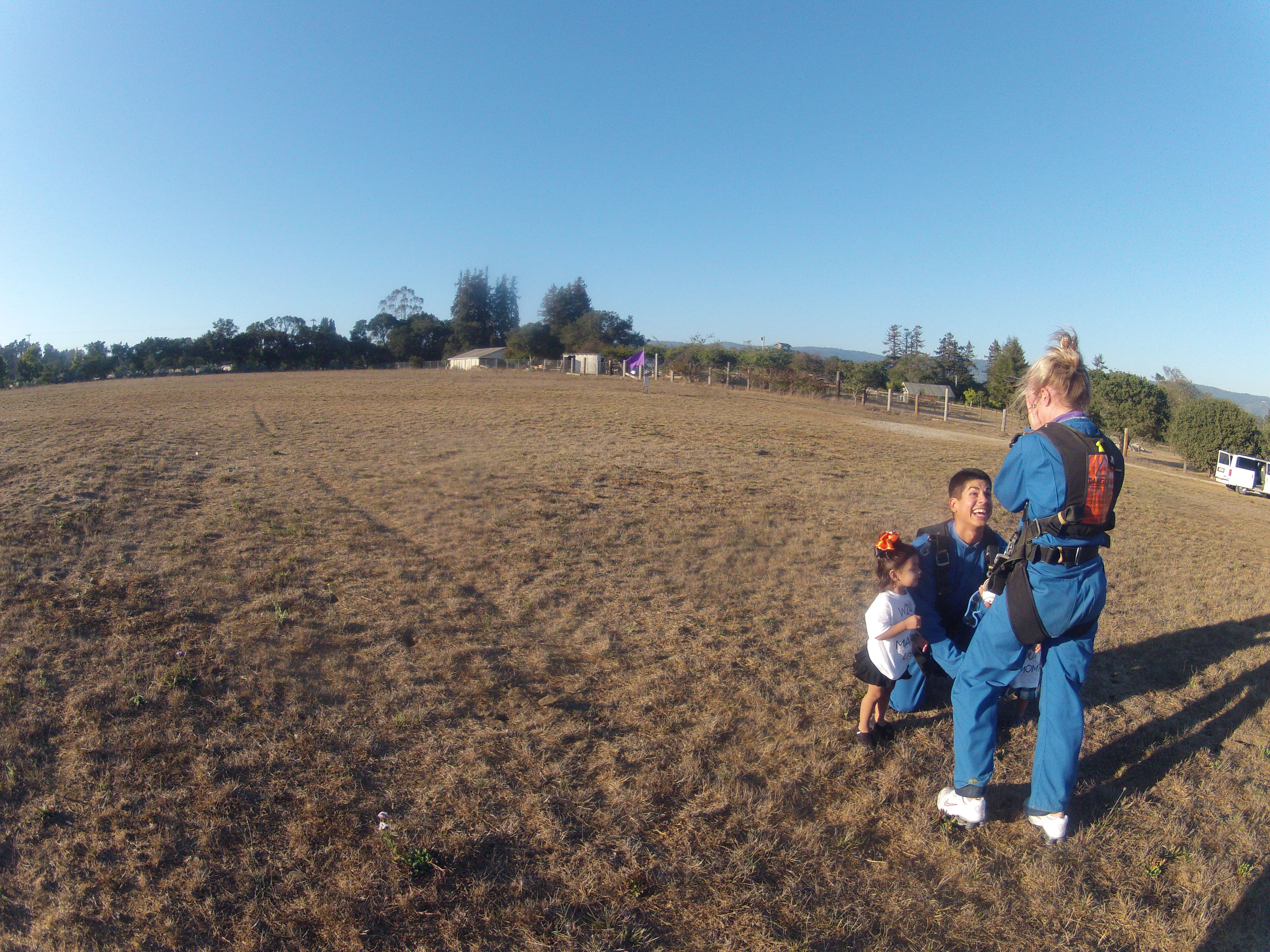 Image 8 of Sky Diving Marriage Proposal