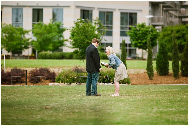 Image 11 of Blair and Ruth; Engaged in Charlotte, NC