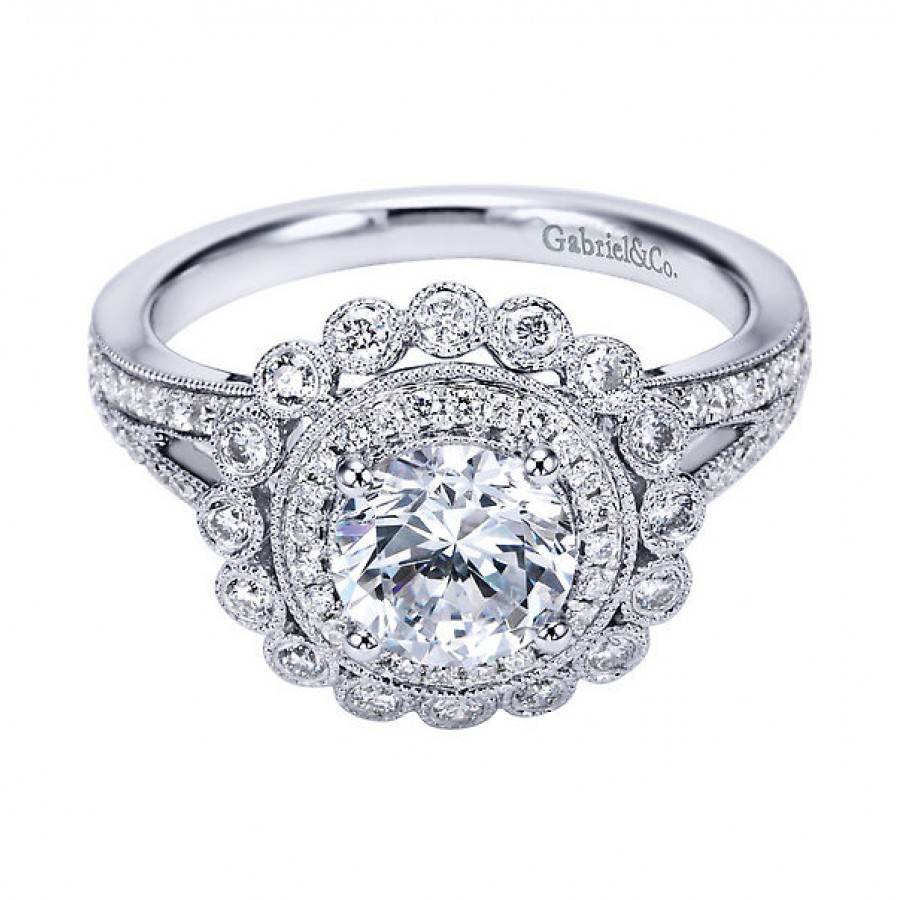 vintage engagement rings With wedding bands for vintage engagement rings