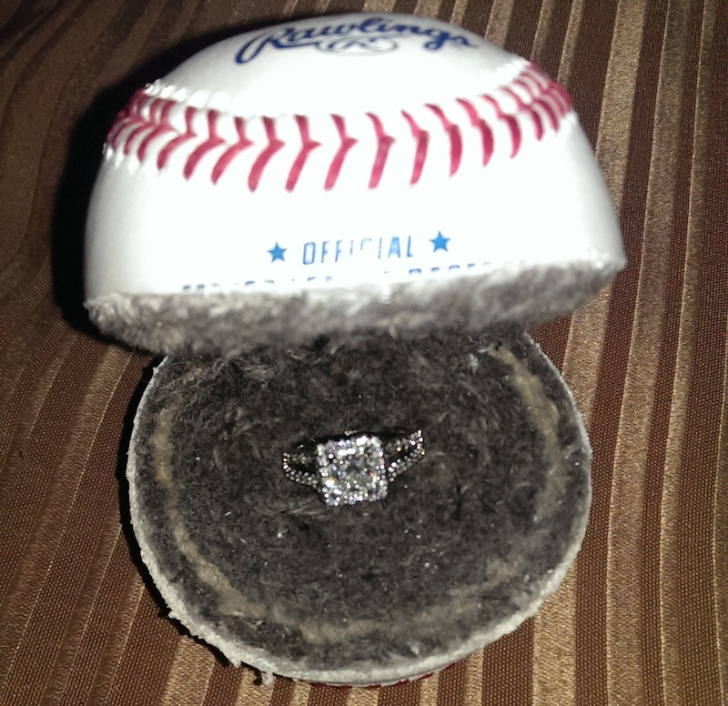 engagement ring _ baseball