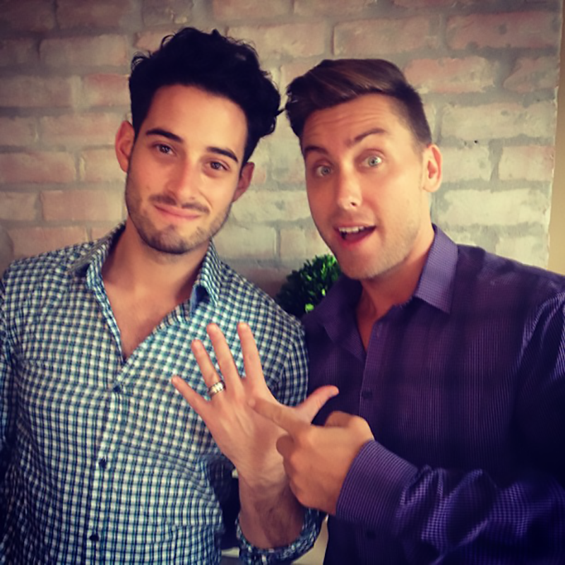 Lance bass and gay blood ban