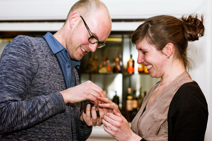 Image 16 of Gillian and Robert's Amazing Notting Hill Proposal Video