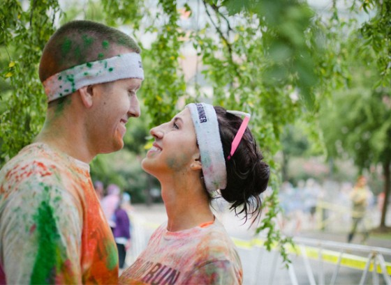 Color Run Marriage Proposal Photo_11