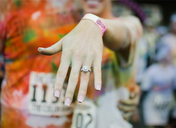 Color Run Marriage Proposal Photo_21