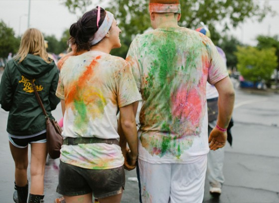 Color Run Marriage Proposal Photo_22