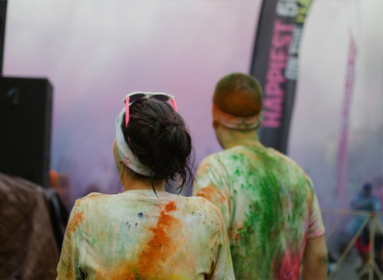 Color Run Marriage Proposal Photo_23