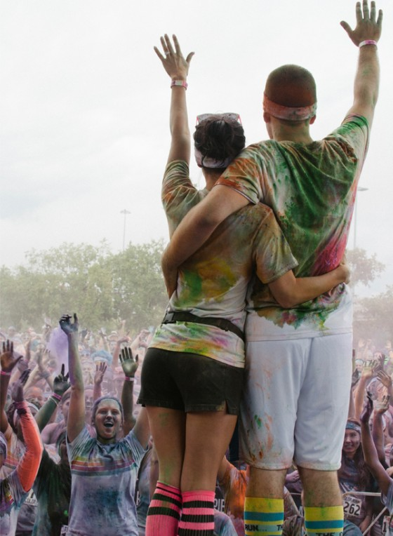 Color Run Marriage Proposal Photo_27