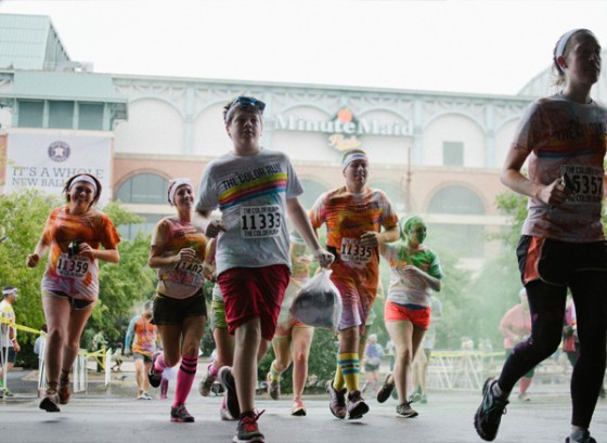 Color Run Marriage Proposal Photo_3