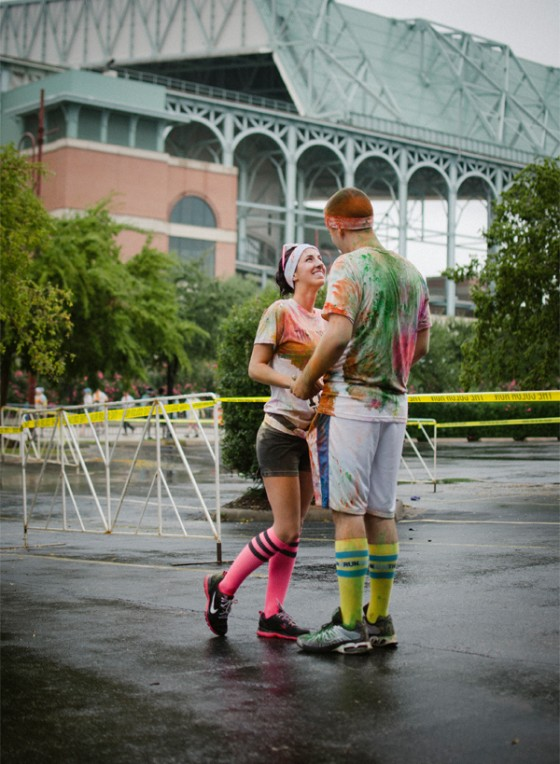 Color Run Marriage Proposal Photo_7