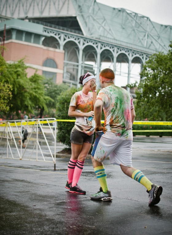 Color Run Marriage Proposal Photo_8