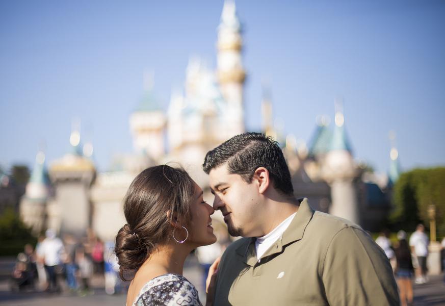 Image 1 of Christina and Jon; Proposal at Disney
