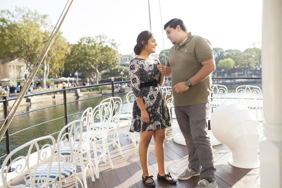 Image 2 of Christina and Jon; Proposal at Disney