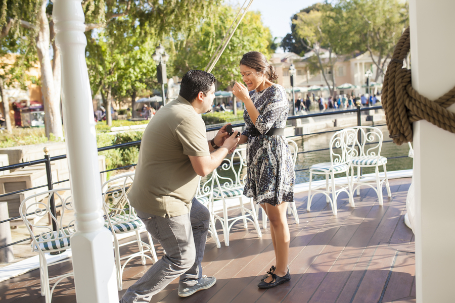 Image 7 of Christina and Jon; Proposal at Disney