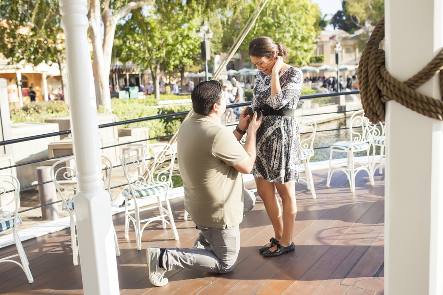 Image 10 of Christina and Jon; Proposal at Disney