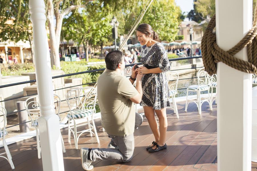 Image 11 of Christina and Jon; Proposal at Disney