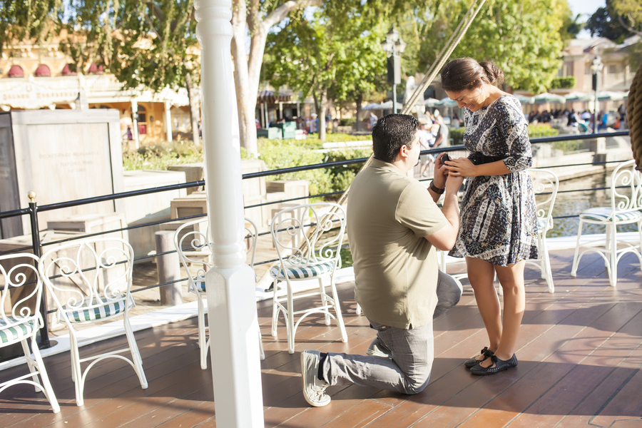 Image 12 of Christina and Jon; Proposal at Disney