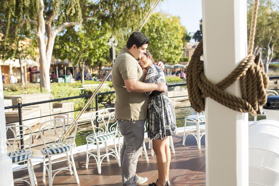 Image 17 of Christina and Jon; Proposal at Disney