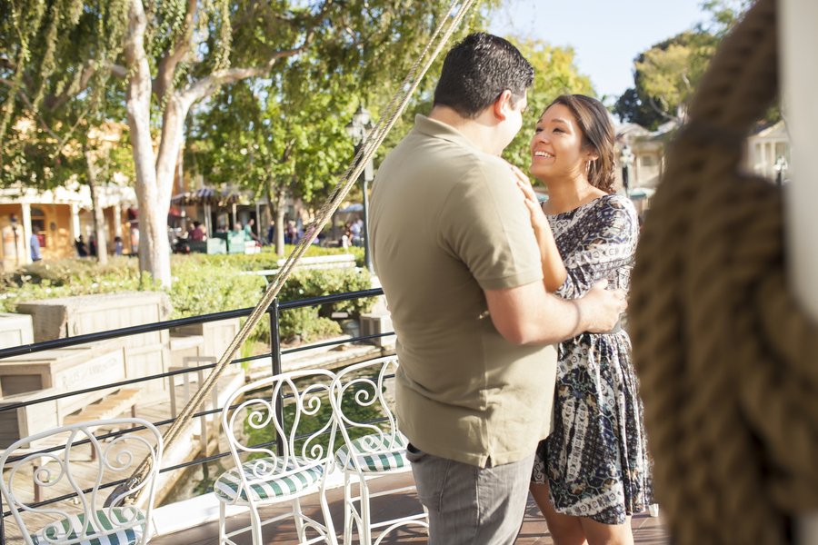 Image 18 of Christina and Jon; Proposal at Disney