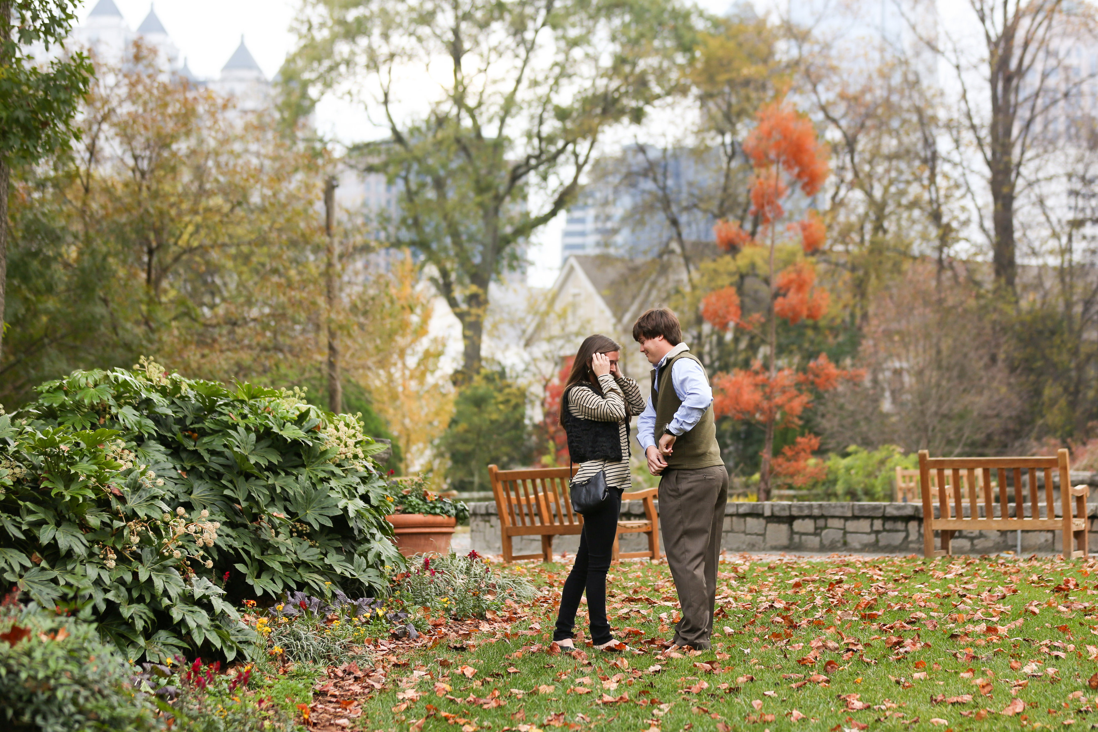 Image 4 of Alex and Lindsey | Atlanta Botanical Gardens Proposal